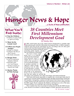 Thumbnail of Hunger News & Hope