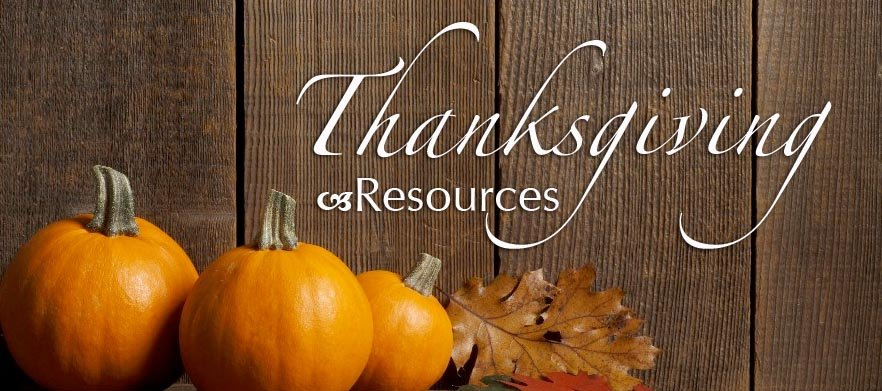 Thumbnail of Special Resources for Thanksgiving