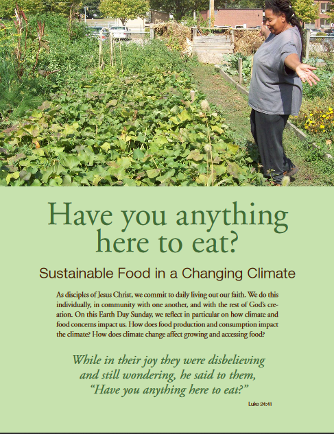 Thumbnail of Sustainable Food in a Changing Climate: Christian Education Resource