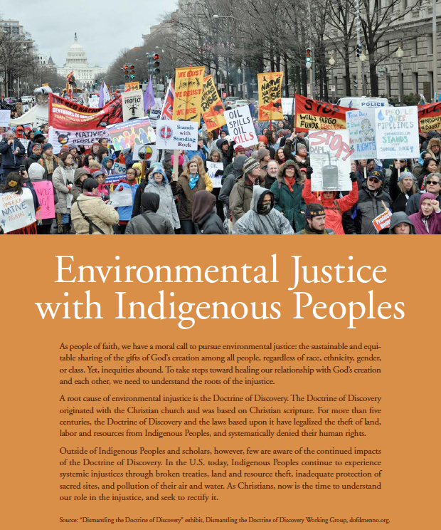Thumbnail of Environmental Justice with Indigenous Peoples