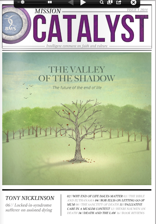 Thumbnail of The Valley of the Shadow of Death: the Future of the End of Life